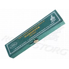 Hangover Incense с сандалом (Himalayan Naturals), благовоние, 30шт*14см, пенал