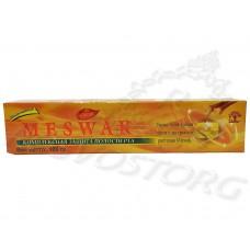 Meswak (Мешвак, Мисвак) лакричная зубная паста, 100г, Индия