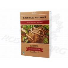 Кориандр (семена) Молотый Coriander Powder Divye Spices 50 г, Индия
