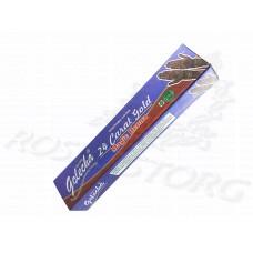 Хна мехенди синяя Golecha 24 Carat Gold в тюбике 35 г, Индия