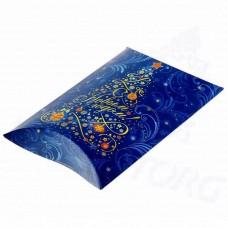 Коробка подарочная С Новым годом / Елочка (картон)
