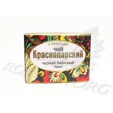 Краснодарский черный байховый чай букет (50г), Россия