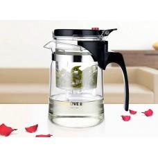 Kamjove TP-760 (500 мл) чайник гунфу (изипот) стекло