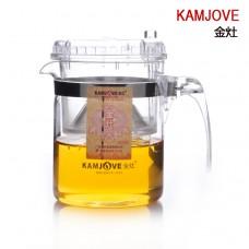 Kamjove TP-540 (300 мл) чайник гунфу (изипот) стекло