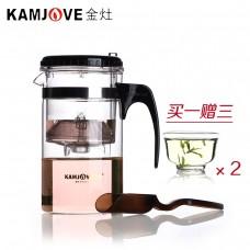 Kamjove TP-200 (1000 мл) чайник гунфу (изипот) стекло