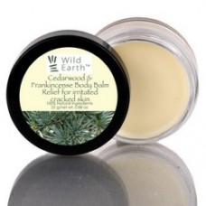 Натуральный бальзам для тела Кедр и Ладан Cedarwood and Frankincense Body Balm Wild Earth 25г, Непал