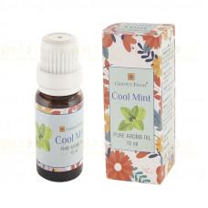 Купить Аромамасло в Спб ◉ Прохладная Мята ◉ Cool Mint Pure Aroma Oil Garden Fresh (10мл) Индия