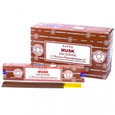аромапалочки Satya MUSK (МУСКУС) 15 г / 20 см Индия