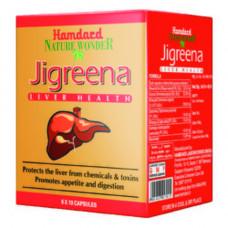 Джигрина БАД для очищения и защиты печени Hamdard Jigreena 60 таблеток