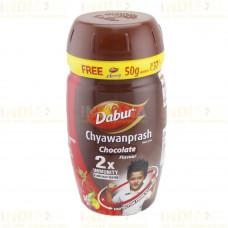 Чаванпраш ШОКОЛАД x2 Двойная сила Chyawanprash Dabur double Immunity (550 г) Индия
