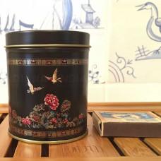 Металлическая Банка для чая Птицы на 25-50 г чая