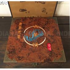 Подарочная упаковка для чая Пуэр Сундук Большой