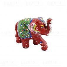 Статуэтка Слон с Поднятым хоботом Роспись 5х5х6 см