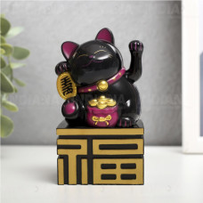 Игрушка-Маятник Кошка Манеки Неко на батарейках, Китай