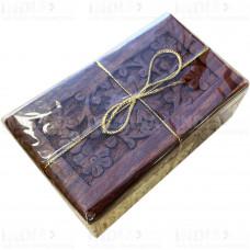 Подарочный Чай Черный Дарджлинг 50 г в деревянной шкатулке