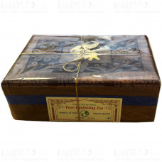 Подарочный Чай Черный Дарджлинг 100 г в деревянной шкатулке
