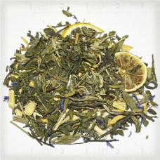 Купить Зеленый чай с добавками Малайский Лайм цена за 1 грамм