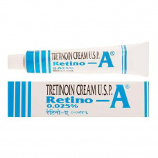 Крем Ретин-А Третиноин Против Прыщей 0,025% Retin-A Tretinoin 20 г Индия