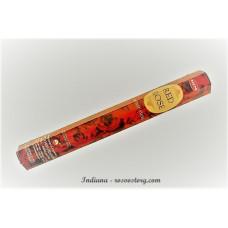 Благовоние HEM RED ROSE Красная Роза аромапалочки 20 шт