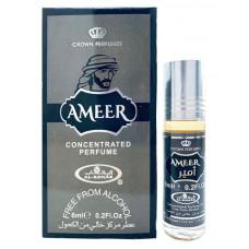 Мужские Арабские Масляные Духи AMEER (Амир) * Al-Rehab (Crown) 6мл