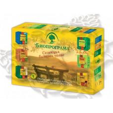 Коллекция травяных чаев Биопрограмма 6 видов по 5 пак., 45г, Болгария