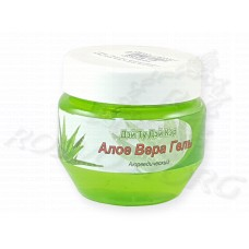 Гель Алоэ Вера травяной аюрведический для лица и тела Aloe Vera Ayurvedic Gel Day2Day Care 100мл, Индия