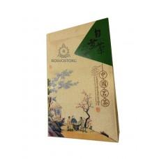 Подарочная коробка для чая Беседа (ткань, 2 банки металл), Китай