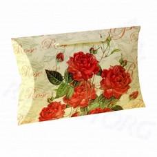 Коробка подарочная Королевские розы (картон)