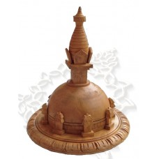 Купить Буддийская Ступа Сувенир 20 см резьба по дереву ручная работа Непал
