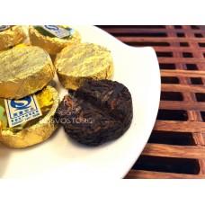 Купить Чай Пуэр * Шу Пуэр 2007г мини точа (таблетка) Цена за 1 грамм