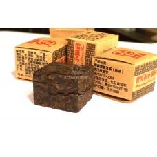 Элитный Шу Пуэр 2009 г кубики Yunnan Haixintang Tea Co Цена за 1 грамм