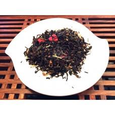 """Черный чай с добавкими """"Пламенное сердце"""""""