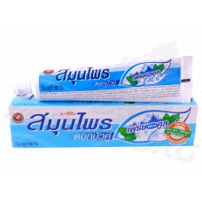 Fresh & Cool (Свежесть и прохлада) Зубная паста Twin Lotus (100 г) Таиланд
