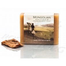 Кобылье молоко и Ладан натуральное мыло Mongolian Mares Milk & Frankincense Soap (100г) Непал
