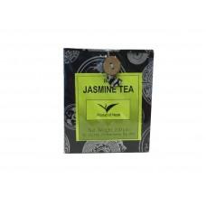 Жасминовый чай (зеленый) 100г в коробке из локта-бумаги ручной работы